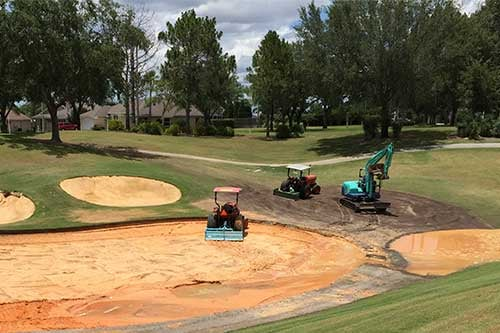 Photo of Construction on Lost City Golf Course